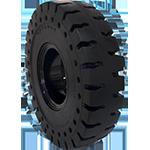 All terrain solid tire